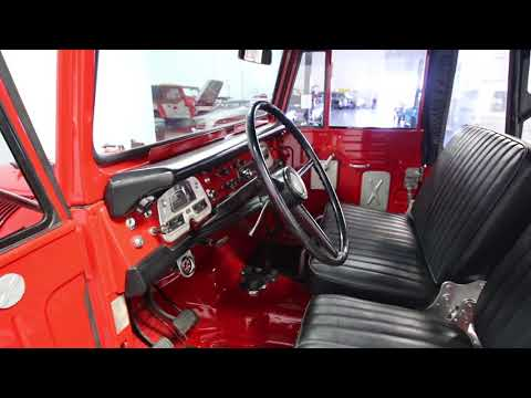Video of Classic '72 Toyota Land Cruiser FJ located in North Carolina - $26,995.00 Offered by Streetside Classics - Charlotte - N3MA