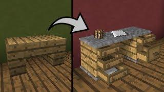 Как построить РАБОТАЮЩУЮ МЕБЕЛЬ в МАЙНКРАФТ (секретные постройки)