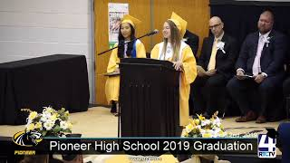 Pioneer High School Graduation