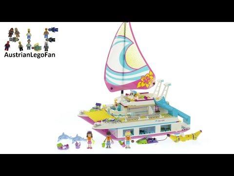 Lego Friends 41317 Sunshine Catamaran - Lego Speed Build Review