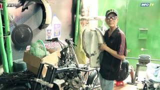Xe độ Cafe Racer của Tự Thanh Đa
