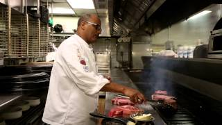 How to Grill a Steak at Bern's Steakhouse - Chef Hab - Video Youtube