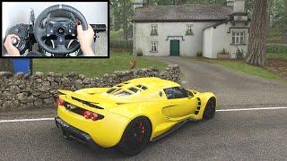 Forza Horizon 4 Hennessey Venom GT (Steering Wheel + Shifter) Gameplay
