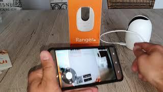 Imou Ranger 2 smarte WIFI Überwachungs Kamera mit APP vom Smartphone überwachen