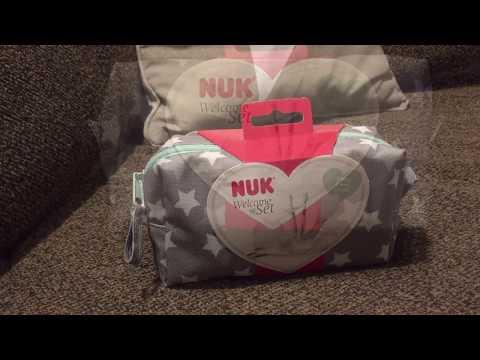 NUK Welcome Set DM Geburtsgeschenk Babyartikel 2016 für unterwegs