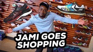 Jamison Michael goes Running Shoe Shopping with Running Warehouse