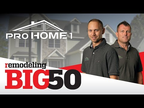 Yes!!! We are delighted to annouce that Pro Home 1 has been selected by REMODELING Magazine as one of the...