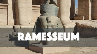 Ramesseum Temple In Luxor - Egypt