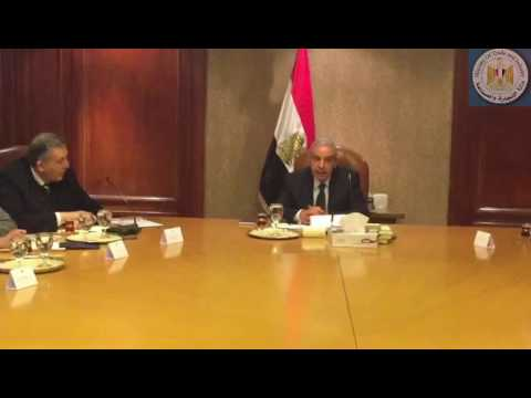 إجتماع الوزير/طارق قابيل مع رئيس الإتحاد العام للغرف التجارية وأعضاء شعبة الأدوات المنزلية بالإتحاد