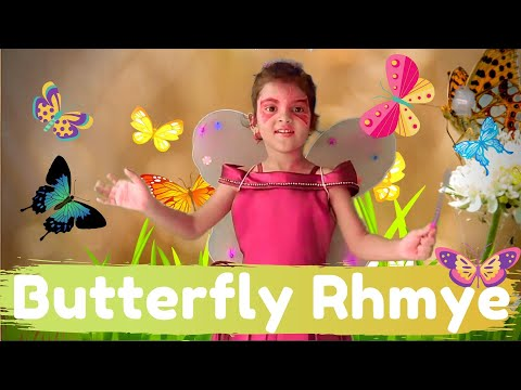 Butterfly Butterfly Flutter Around Rhyme for Kids