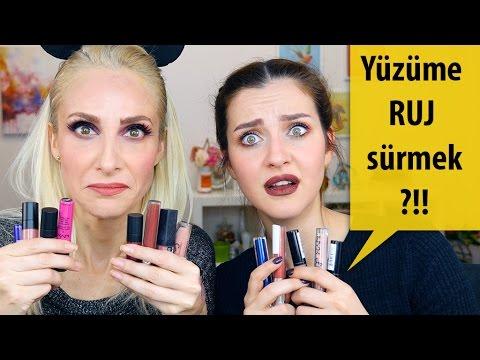 Rujla Tüm Yüz Makyajı Challenge Irem Helvacıoğlu Sebile