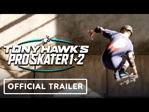Tony Hawk's Pro Skater 1 and 2 Remaster – Official Announcement Trailer
