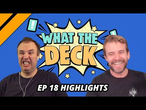 [Highlight] What The Deck Ep. 18 w/ Brian Kibler! | Companions vs. Apex Monsters | MTG Arena