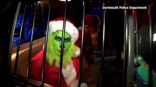 Caught green-handed: Cops bust The Grinch