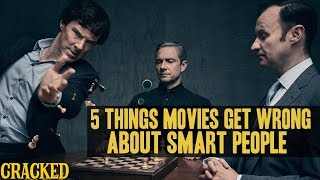 5 Things Hollywood Gets Wrong About Smart People