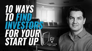 10 Ways to Find Investors for Your StartUp   Startup Funding   How to fund your startup
