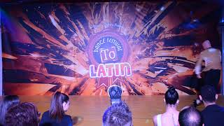 Enzo Listone ● Show ● To Dance Latin Festival 2018