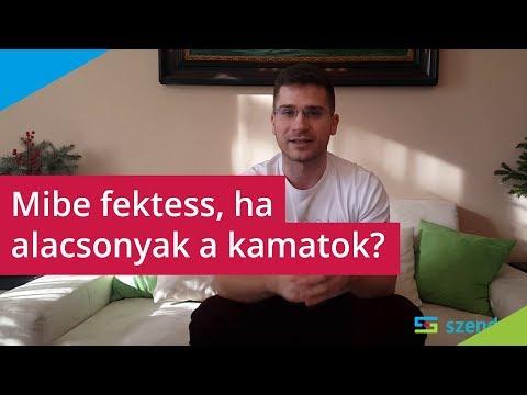 Videó az opciók bevételeiről