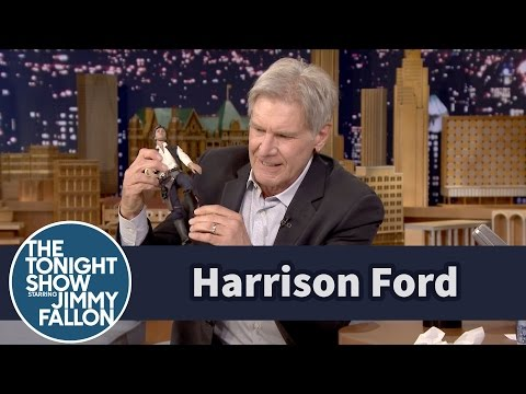 Jimmy Fallon - Harrison Ford a jeho naturalistická demonstrace