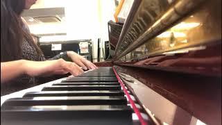 無聲曲 piano cover.亞洲鋼琴城(model: Yamaha-W)