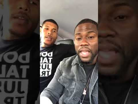 Kevin Hart and His Trainer on Instagram Live Best Thing Ever