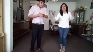 Cumbia tejana/norteña basica/ como bailar cumbia texana