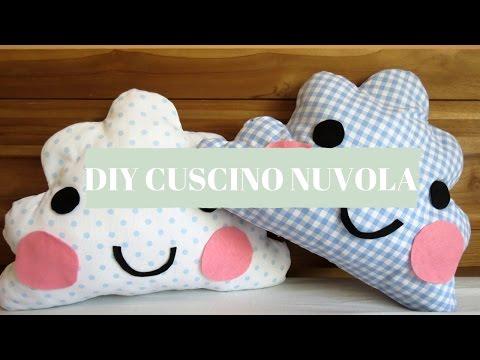 DIY CUSCINO NUVOLA facile e veloce!!! DIY CLOUD PILLOW very easy