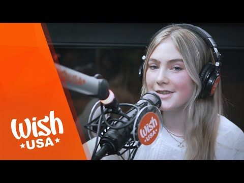"""annelieElina performs """"Almost Seventeen"""" LIVE on the Wish USA Bus"""