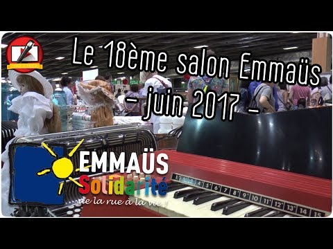 18 ème Salon Emmaus Paris 2017