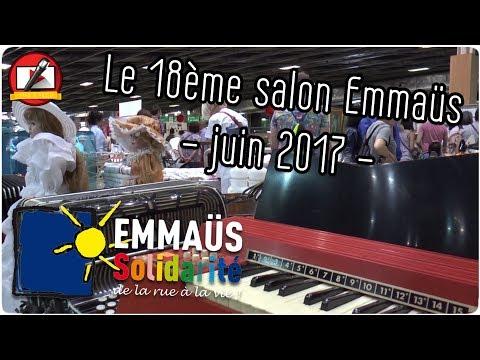 18 ème Salon Emmaus Paris 2017