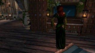 skyrim dress mod: Волшебные платья elvish dresses