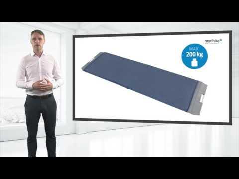 Rollboard zur rückenschonenden & ergonomischen Umlagerung von Patienten