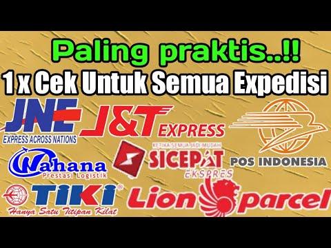 CARA TERCEPAT CEK ONGKIR JNE,J&T EXPRES,TIKI,POS INDONESIA, WAHANA,SICEPAT DAN LION PARCEL