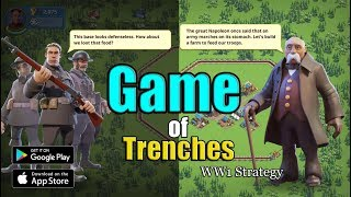 Game of Trenches: WW1 Strategy - Android / iOS Gameplay HD