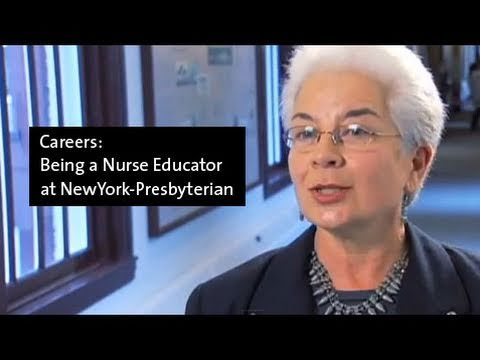 Being a Nurse Educator at NewYork-Presbyterian