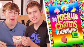 WORLD'S UNHEALTHIEST CEREAL (RARE all-sugar Lucky Charms!?!)