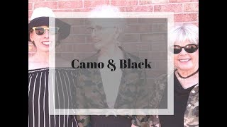 Camo Outfits With Black For Women