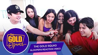 BLOOPERS REACTION VIDEO WITH DIMPLES AND BEAUTY | The Gold Squad