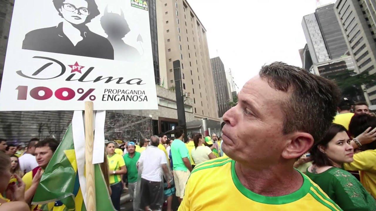 Av. Paulista reúne maior ato político desde as Diretas-Já.