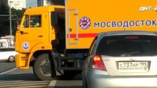 Авария с возгоранием волоколамское шоссе 25 07 2017