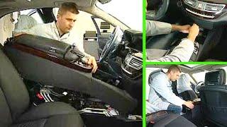 Mercedes Benz S-Klasse | Mittelkonsole aus-, einbauen (W221)