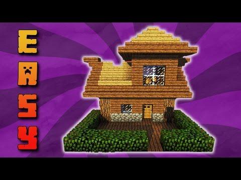 Tutorial Zweistöckiges Minecraft Haus Bauen Kleines Haus Für Den - Minecraft haus bauen deutsch leicht