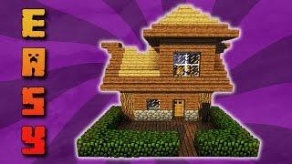 Minecraft Kleines Haus Bauen видео Видео - Minecraft hauser zum bauen