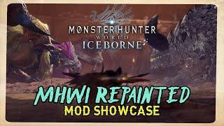 Iceborne Mod Showcase - MHWI REPAINTED
