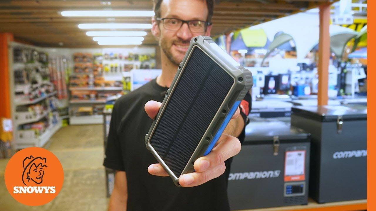 Solar Powerbank 16000mAh