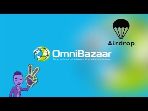 Ganhe 15$ dólares no Airdrop OmniBazaar .