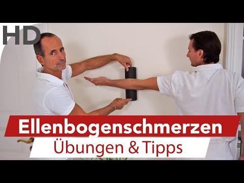 Faszienrollmassage - Übungen gegen Golfarm / Tennisarm - Schmerzen Golf Tennis