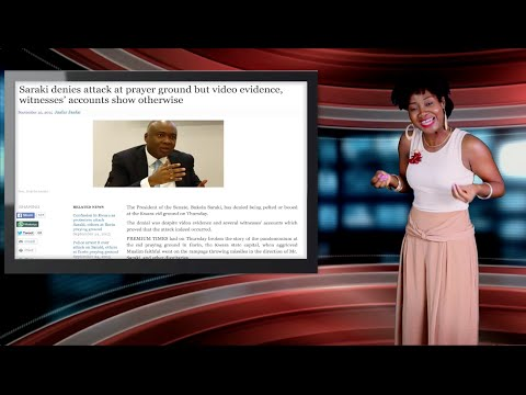 Keeping It Real With Adeola -183 (Senate President Saraki Stoned; 34 Corrupt Ghanaian Judges Busted)