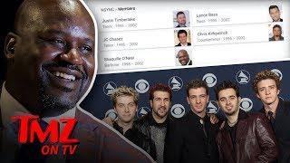 Shaq's A Member Of *NSYNC! | TMZ TV - Video Youtube