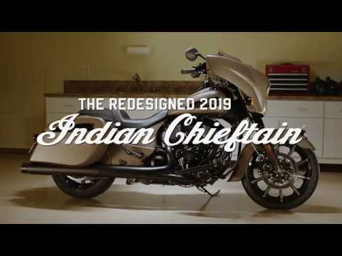 2019 Indian Chieftain® Dark Horse® ABS in Neptune, New Jersey - Video 1